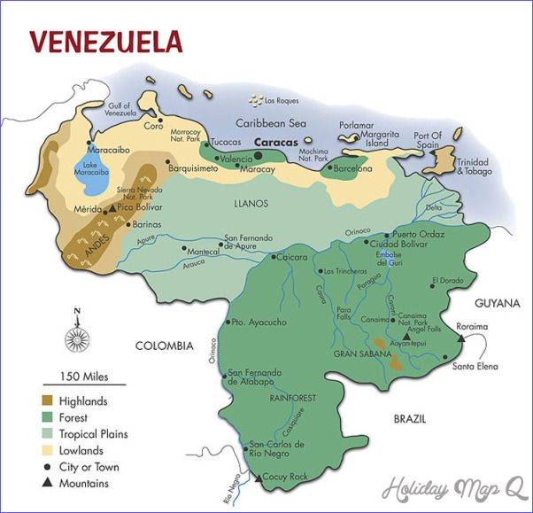 Nice venezuela map tourist attractions holidaymapq pinterest nice venezuela map tourist attractions sciox Images