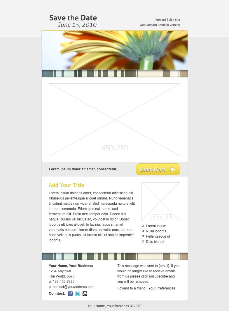 save the date email template date save template email my