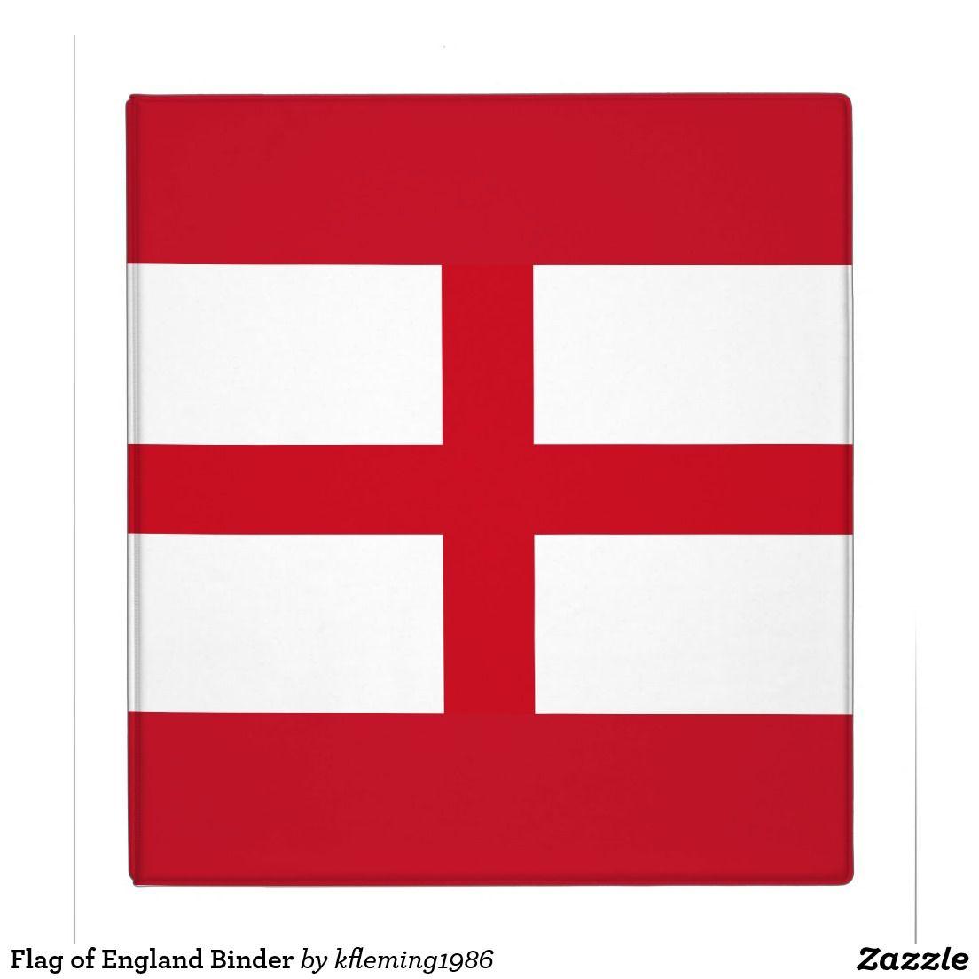 Flag of england binder england flag binder flag