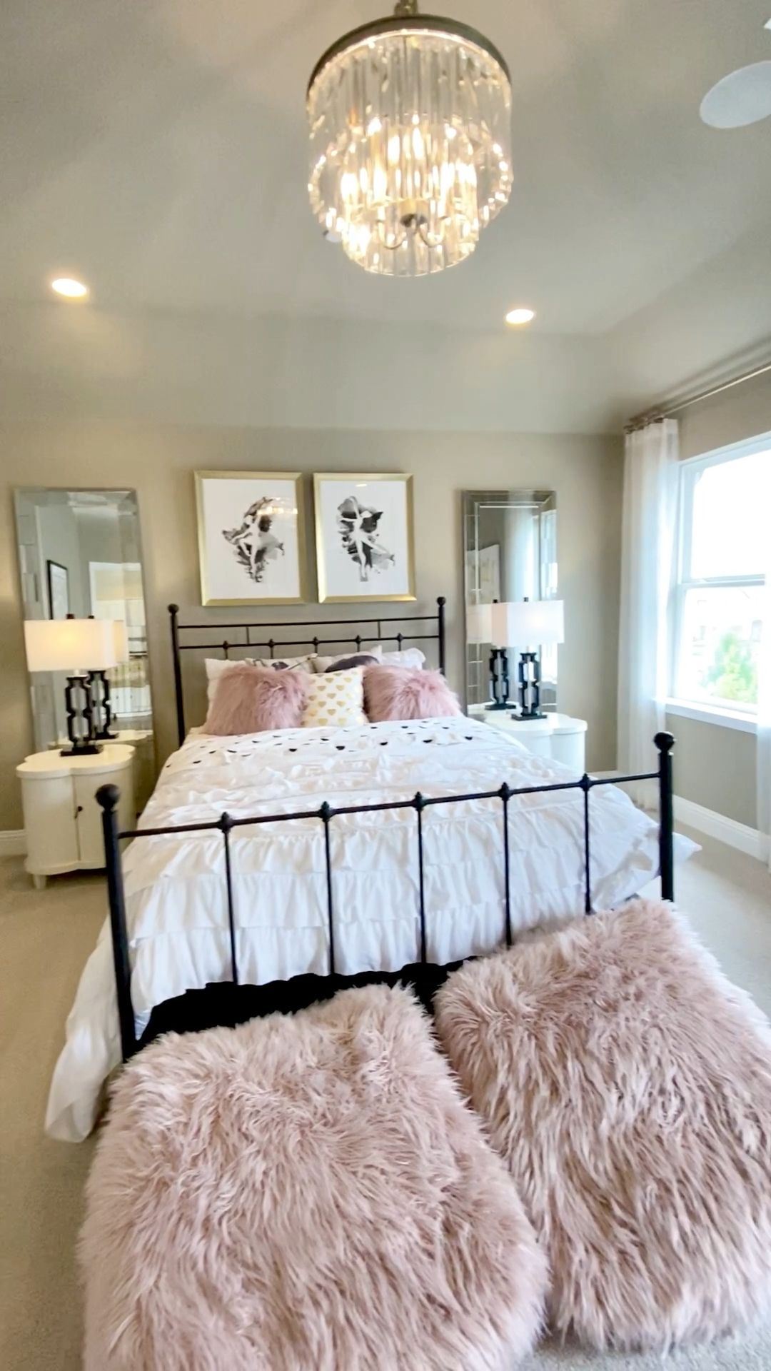 Photo of Ballet pink girls bedroom design