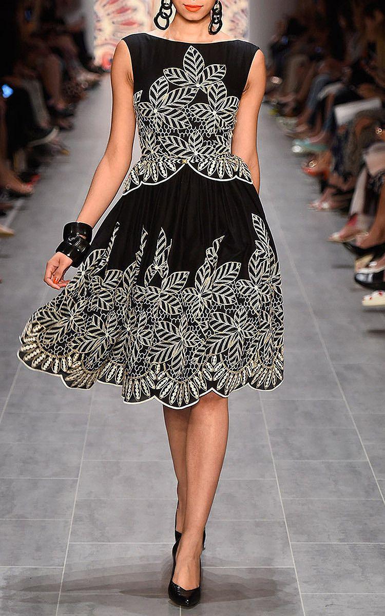 Lena Hoschek Black Cairo Dress