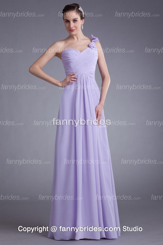 Lilac Bridesmaid Dress - Ocodea.com