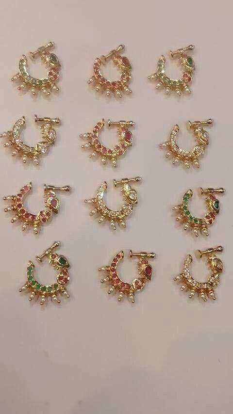 Pin By Bhagya Laxmi On Jewelry Nose Ring Jewelry Nose Jewelry