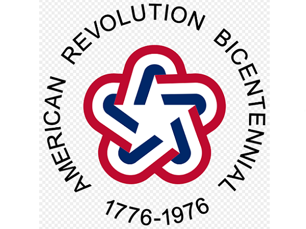 Photo Bicentennial Logo commissioned by the American