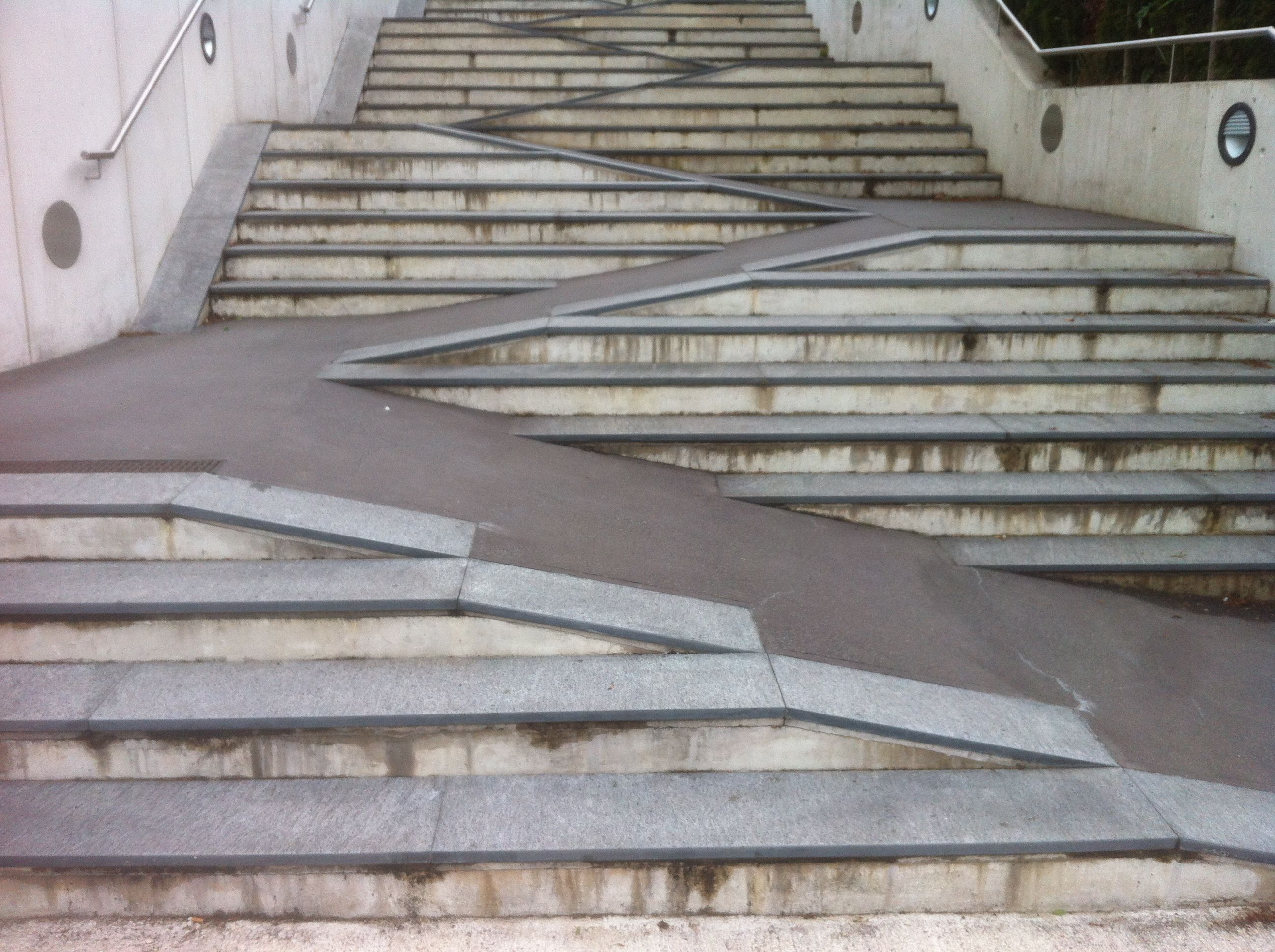 rampe treppe