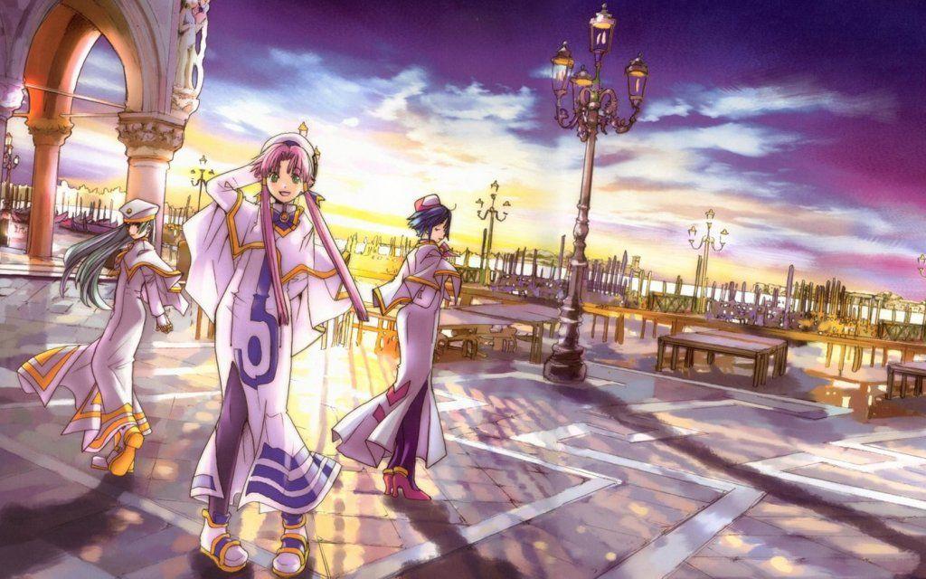 Akari Aika Alice Aria Widescreen Wallpaper One Piece Manga