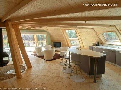 Casa domo cocina comedor domos pinterest casa domo for Domo muebles