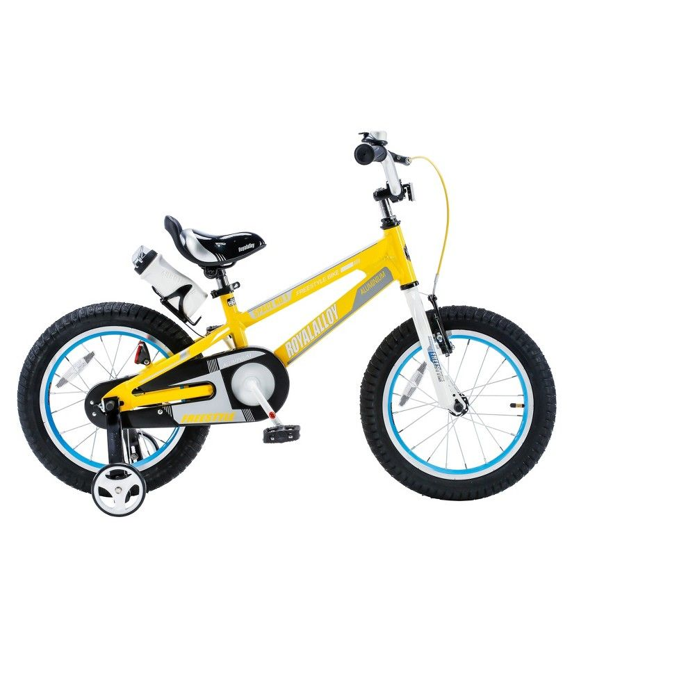 4599b90579f5 RoyalBaby Space No. 1 16 Bike - Yellow   Products   Bmx bikes, Bike, Bmx