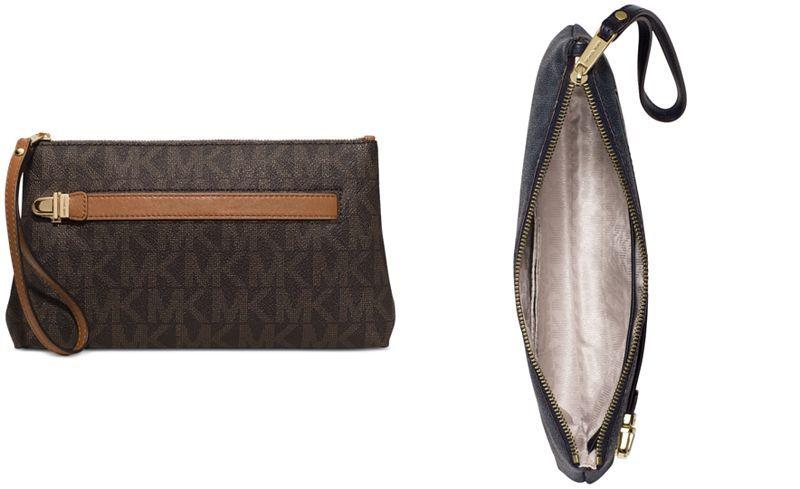MICHAEL Michael Kors Charlton Medium Wristlet - Handbags & Accessories - Macy's