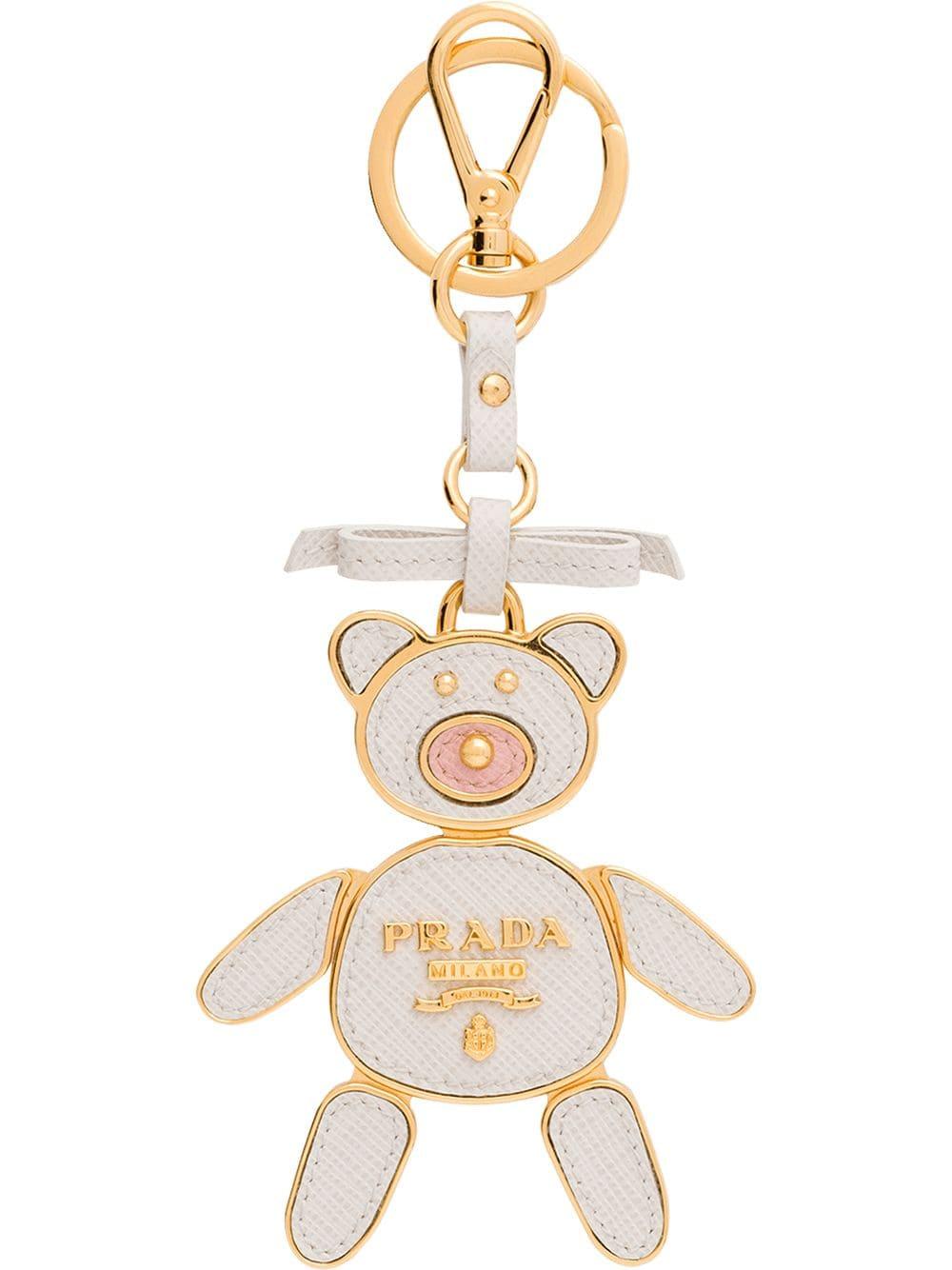 c9691c1b71 Prada bear keychain trick - White in 2019   Products   Prada ...