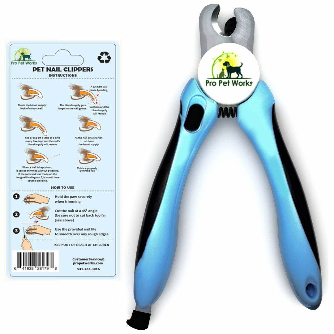 Dog Nail Clippers Trimmers With Nail File For Grooming