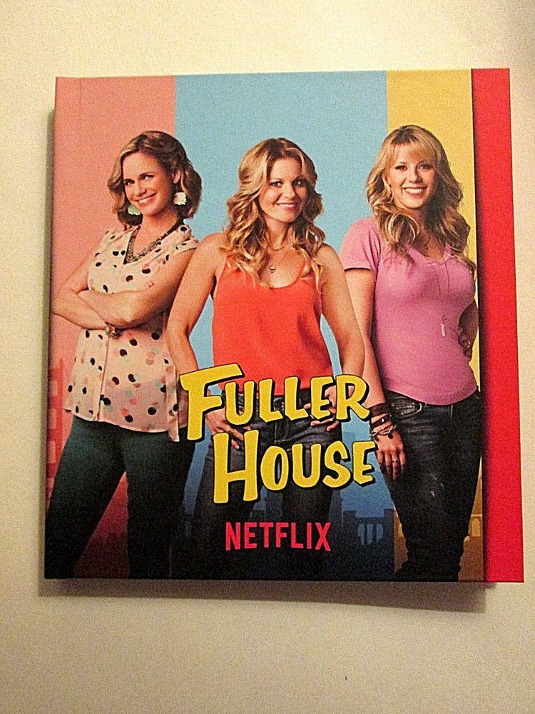 Fuller House Season 1 Netflix Fyc Collection Book 14 2 Disc Dvd Pressbook Fullerhouse Tv Series Fuller House Fuller House Netflix Fuller House Season 1