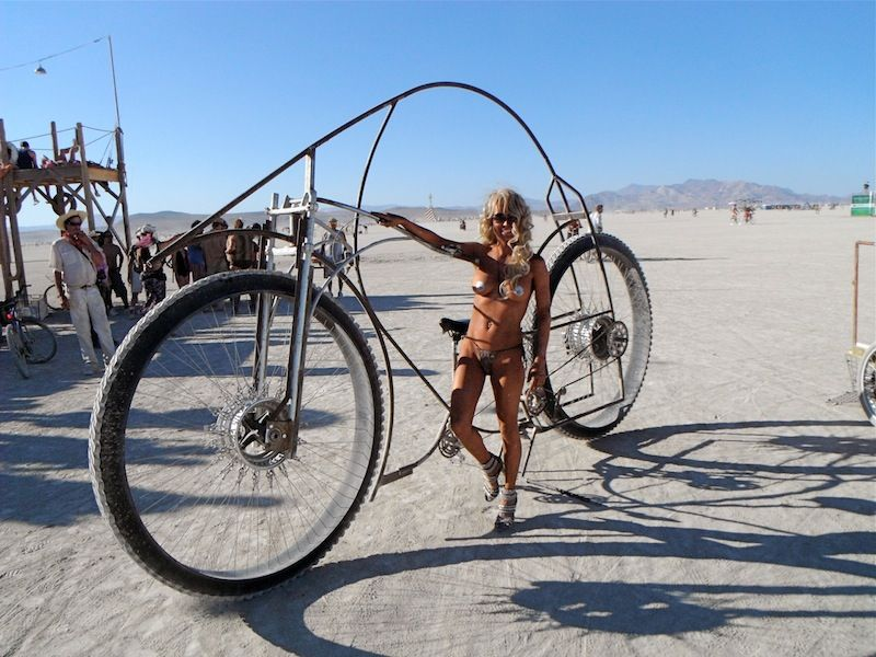 Burning Man Bike Mega Bike | BURNING MAN | Pinterest | Fahrräder und ...