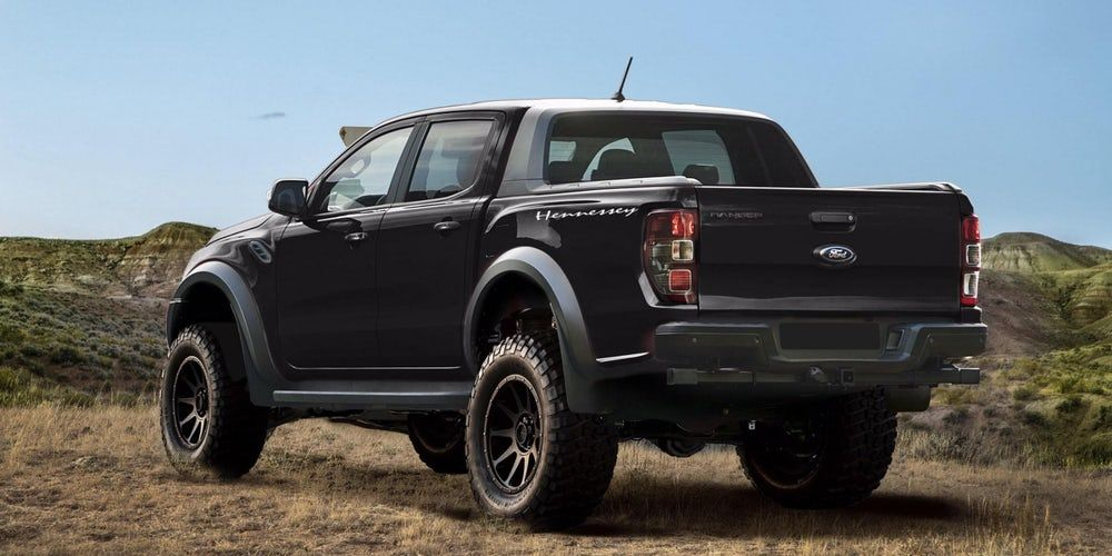 Hennessey Velociraptor Goes Jurassic With The Ford Ranger Ford