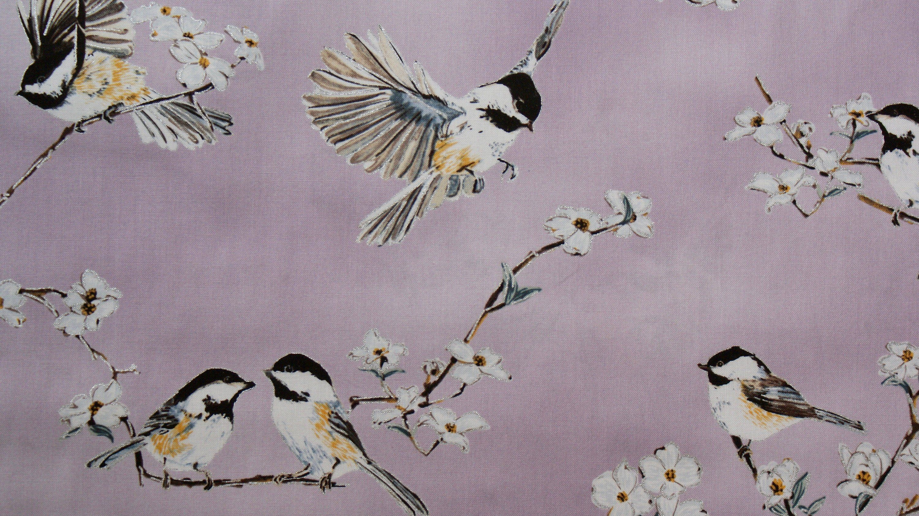A Small Bird Spring Cotton Fabric Altrosa Schone Stoffe Altrosa Kleine Vogel