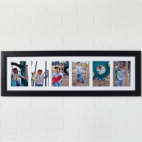 """Father's Day: We """"Heart"""" Dad Collage Frame"""