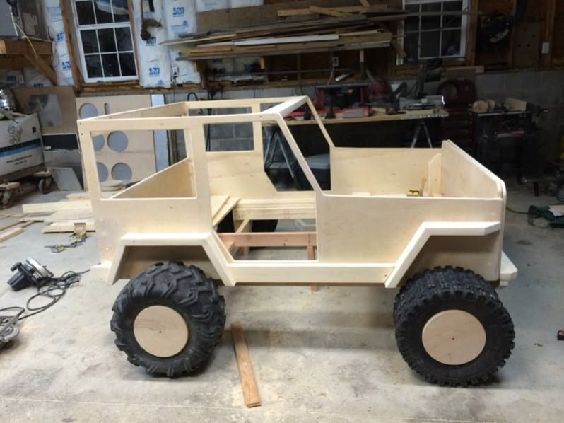 Pin De Kevin Phillips Em Kids Jeep Bed Carro De Madeira Puzzles