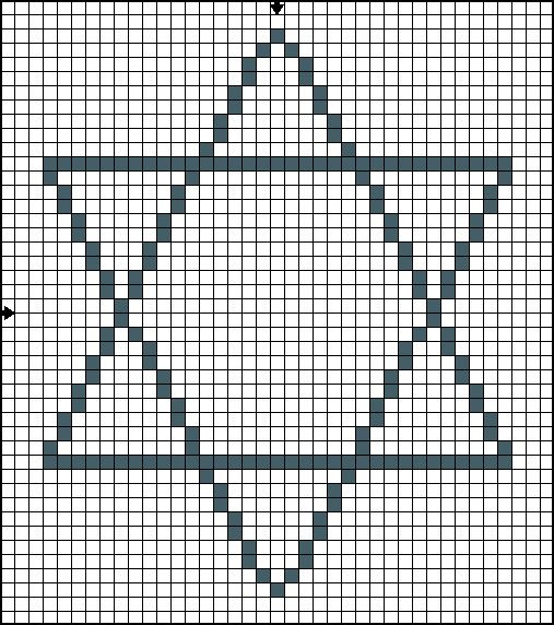 Free Hanukkah Cross Stitch Patterns - Small Hanukah Motifs