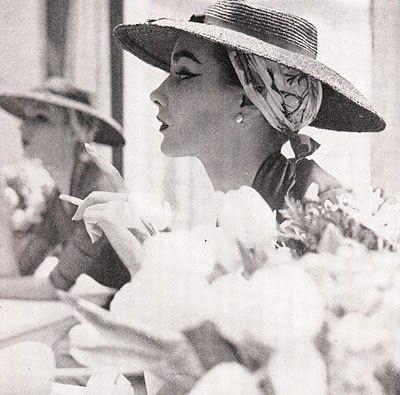 The Retro Vintage Scan Emporium Women Wearing Hats Scarf Under Hat 1950 Women How To Wear Scarves