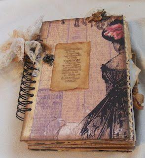 Creative Cafe Vintage Junk Journals Vintage Junk Journal Art Journal Pages Vintage Journal