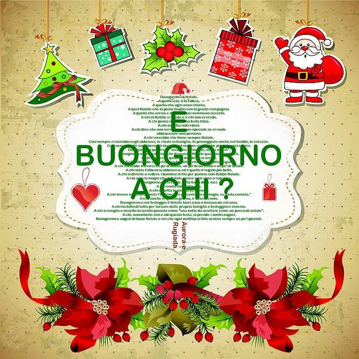 buongiorno buona giornata natalizio gif bellissime di