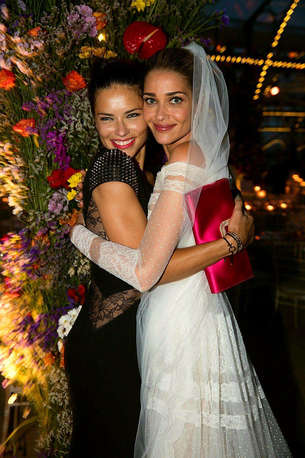 Ana Navarro Wedding.A Bevy Of Victoria S Secret Models Descend On Mykonos For