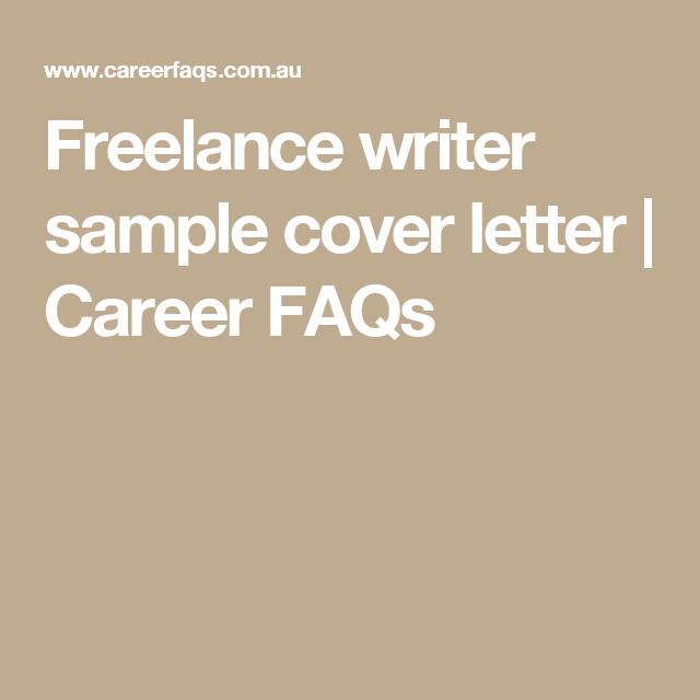 Freelance Writer Resume Freelance Writer Sample Cover Letter