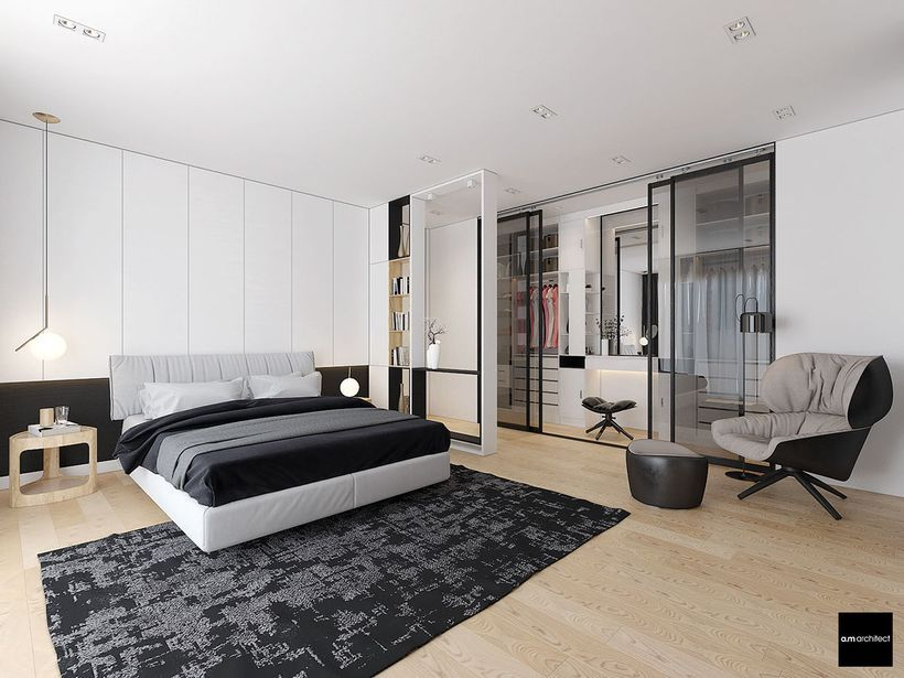 60 inspiring minimalist walk in closets design ideas interiors rh pinterest com