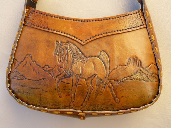 Horses in leather by Brenda Lovejoy - WetCanvas