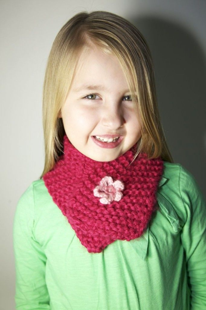 Kids Neck Warmer Knitted Scarf | Knitted, Knitted scarf ...