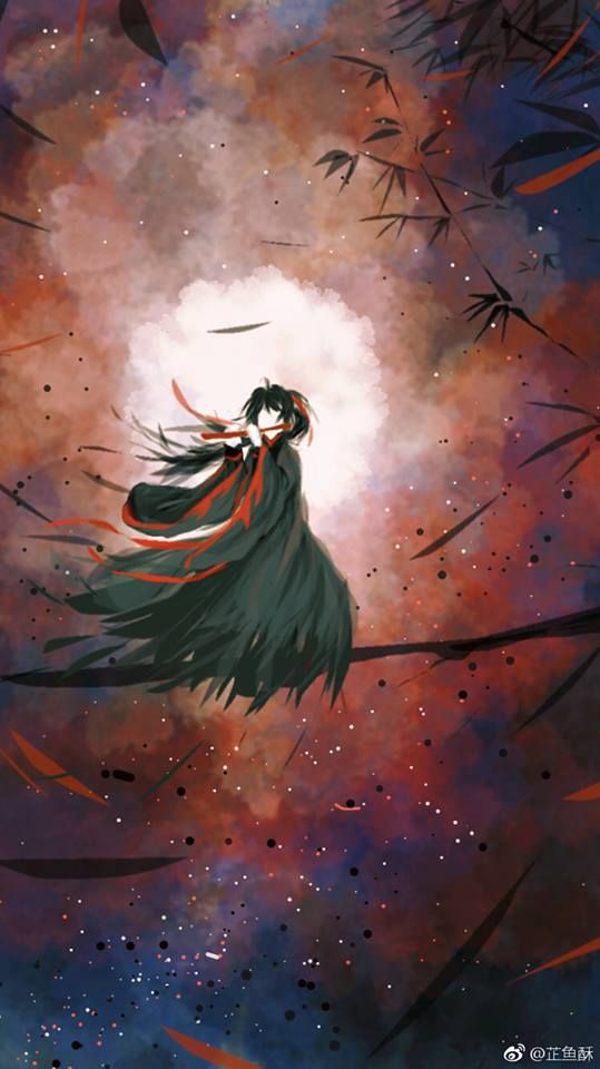 Pin By Laura Wuxian On The Grandmaster Of Demonic Cultivation Anime Art Painting Anime