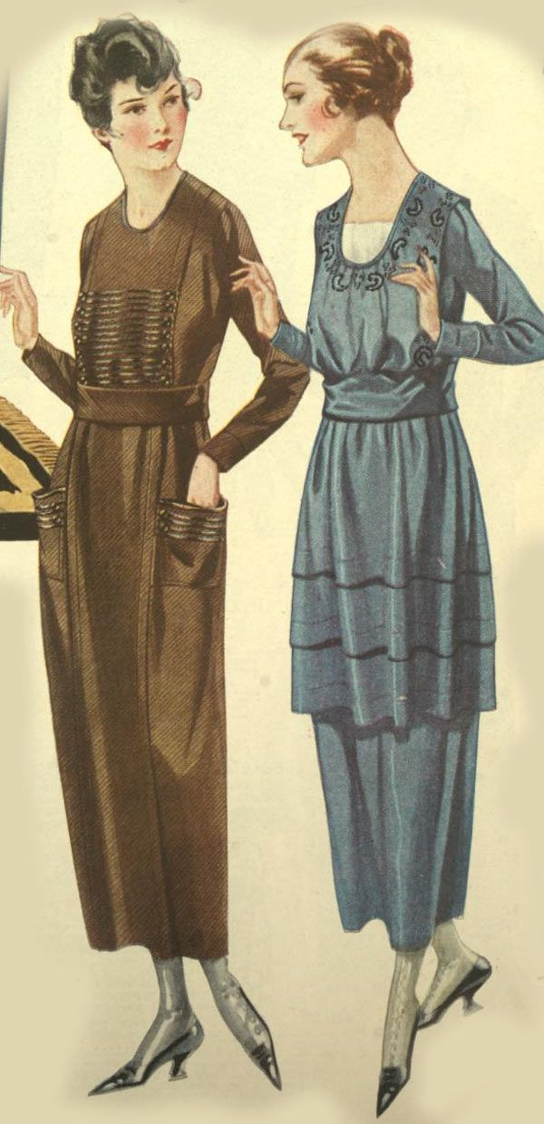 Women&39s Dresses from a 1928 catalog vintage 1920s fashion ...