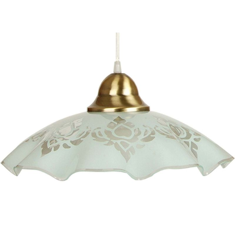 suspension de plafond en verre blanc s rigraphi et. Black Bedroom Furniture Sets. Home Design Ideas