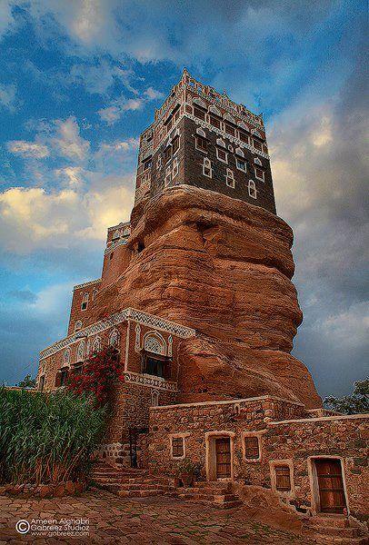 دار الحجر - تصوير ايمن الغابري | ODS: yemen | Pinterest ...