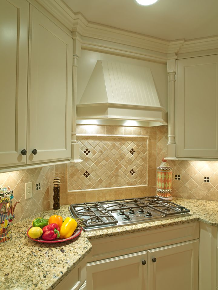 Illuminated And Stylish Wall Trim And Accent Tile With Granite