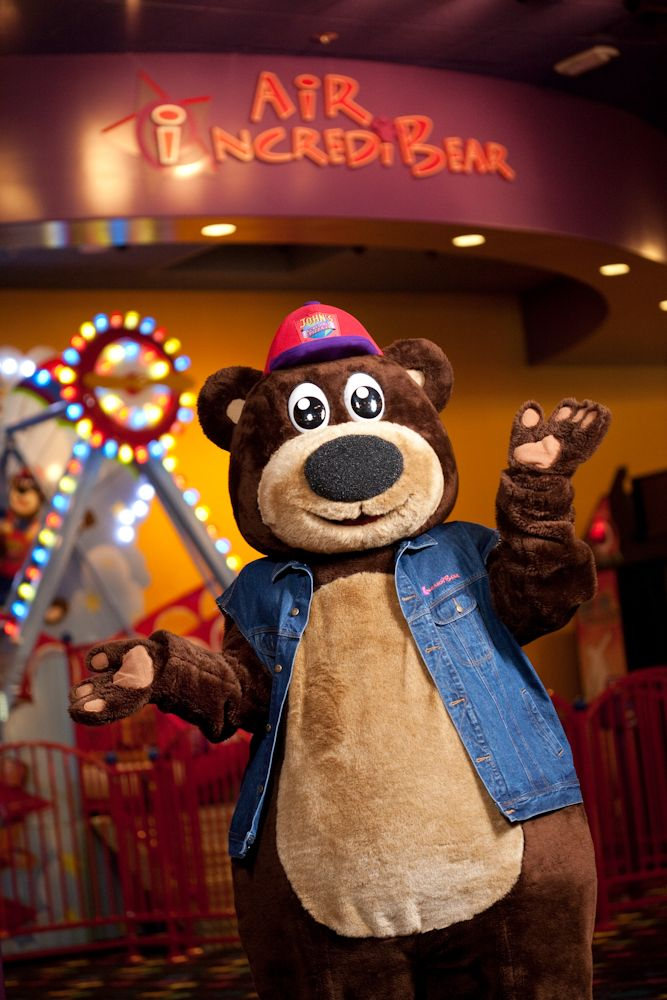 Air IncrediBear is one of my all-time favorite rides @ John's Incredible Pizza Company!