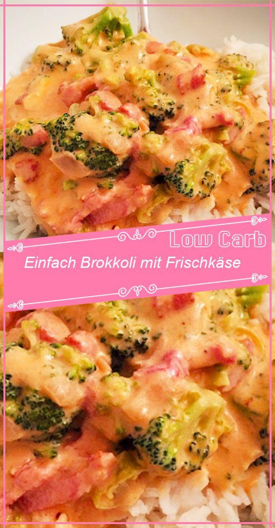 Einfach Brokkoli mit Frischkäse #nutritionhealthyeating