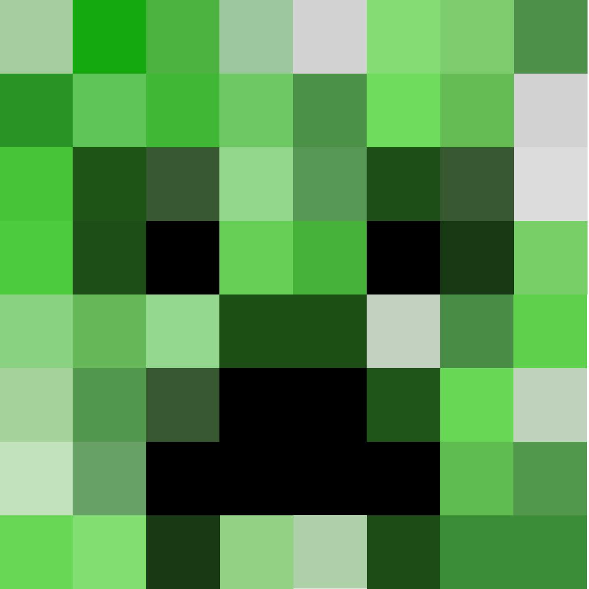 Zombie Minecraft Pixel Art Pixel Art Templates Pixel Art