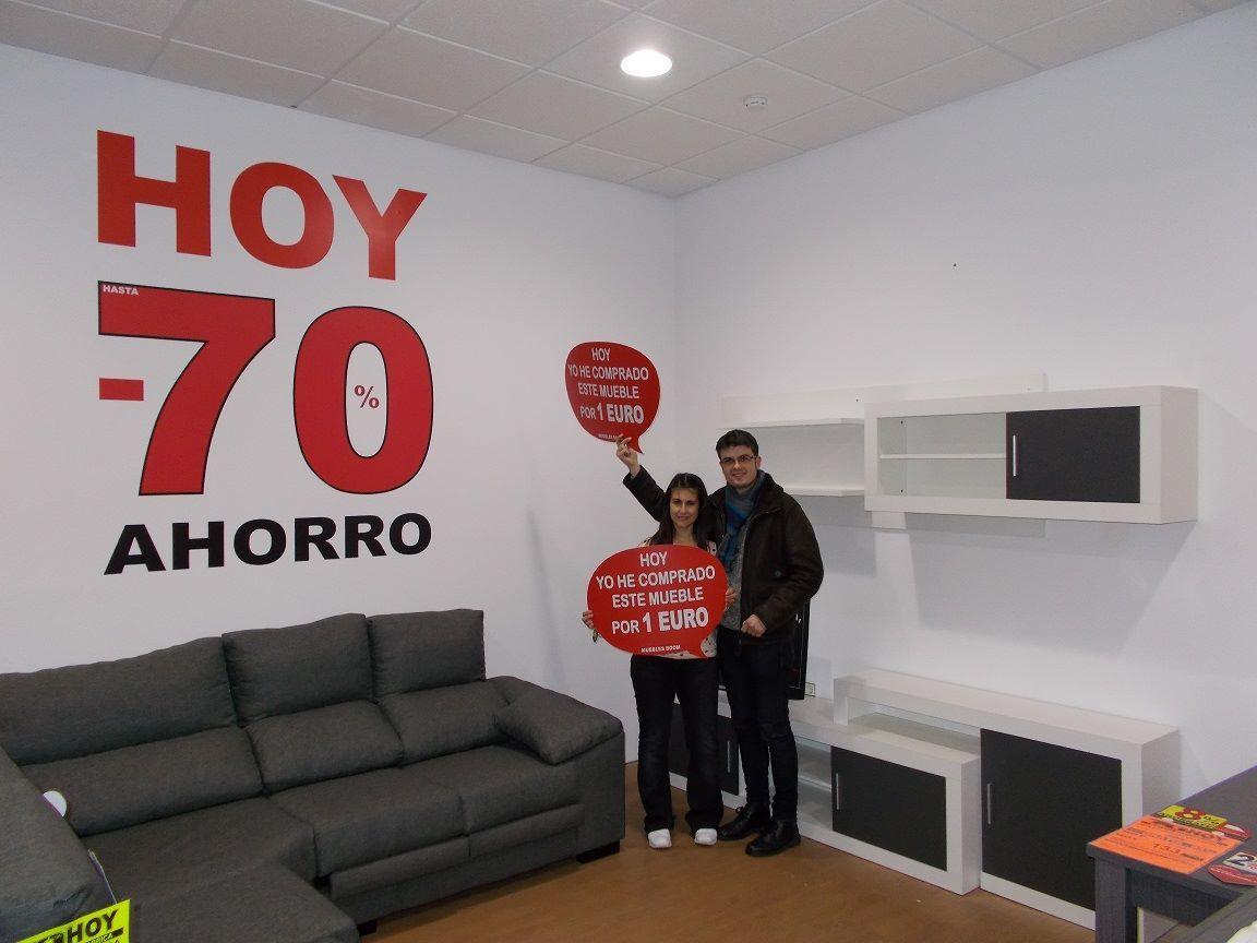 El Lunes Alejandra L S Y Hugo C T Se Compraron Por S Lo 1 Euro  # Muebles Fuentes Carballo