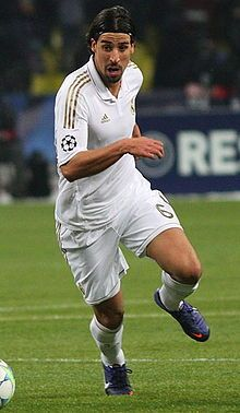 Sami Khedira Germany Khedira Was Born In Stuttgart His Father Is Tunisian And His Mother Is German
