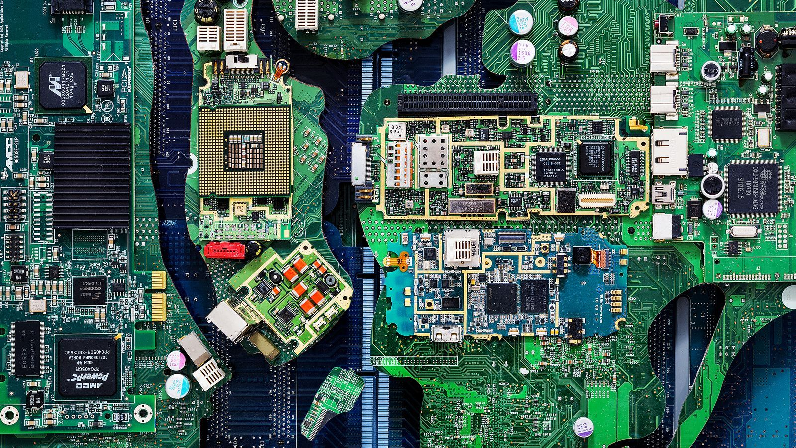 Tracing New York City S Millions Of Pounds Of E Waste From Shelf