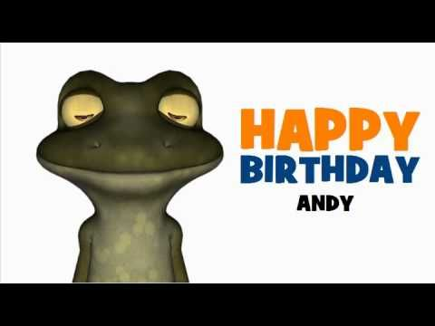 Happy Birthday Andy With Images Happy Birthday My Friend