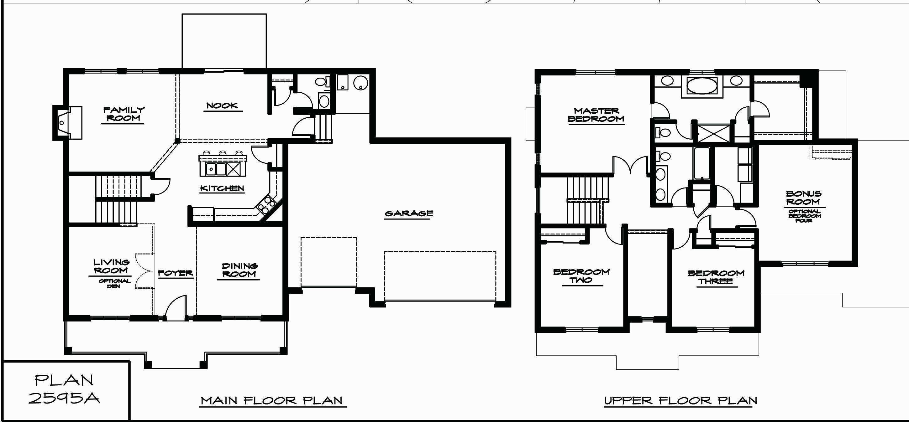 42 Rectangular House Floor Plans Fdl Planner Single Storey House Plans Garage House Plans House Plans With Photos