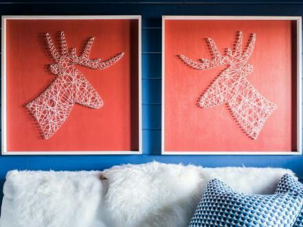 Pin by lacey lind on house how tos pinterest house diy network has step by step instructions for creating oversize silhouette wall art solutioingenieria Images