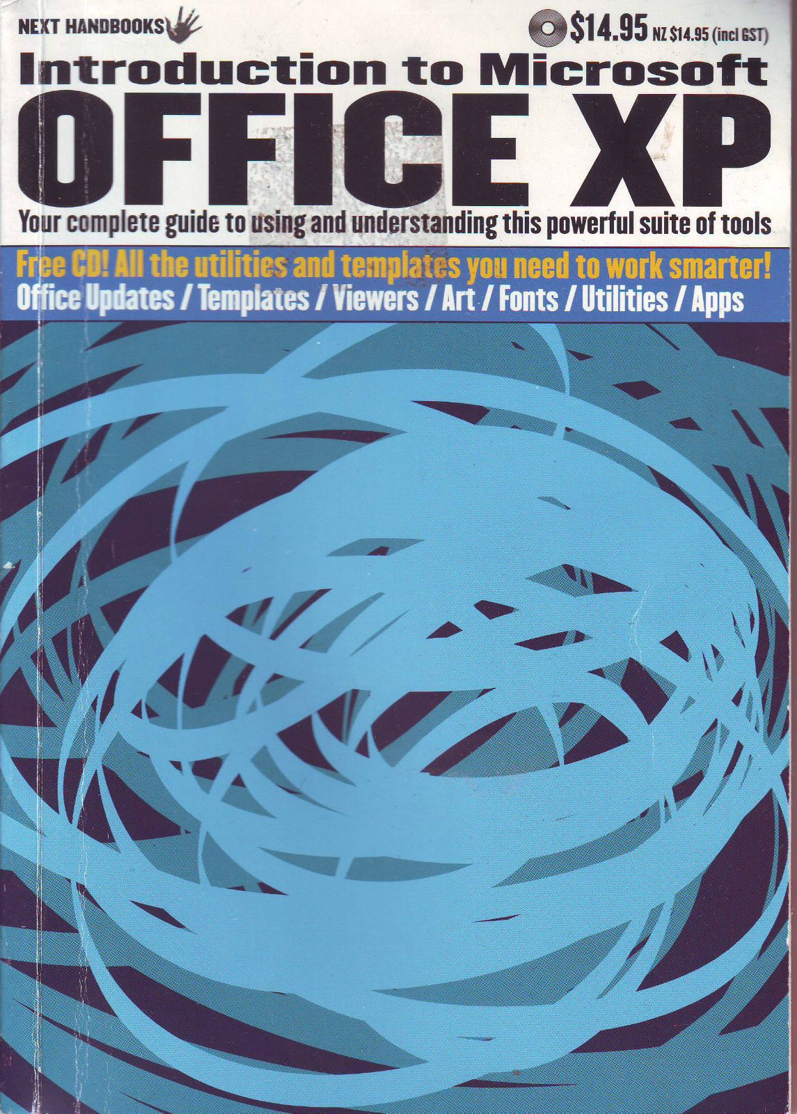 Introduction to Microsoft Office XP -- Somehow this cover art seems fitting..