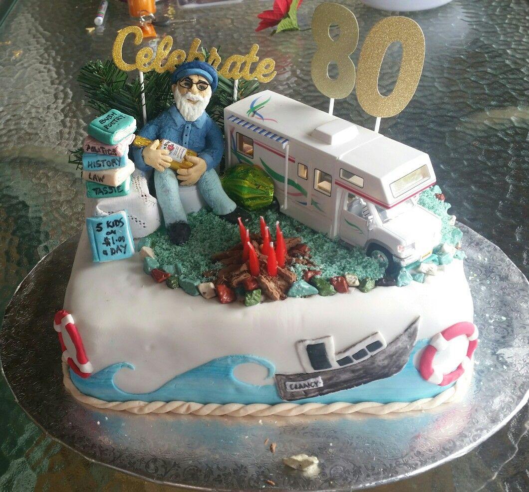 80th birthday cake for dads 80th 80 birthday cake