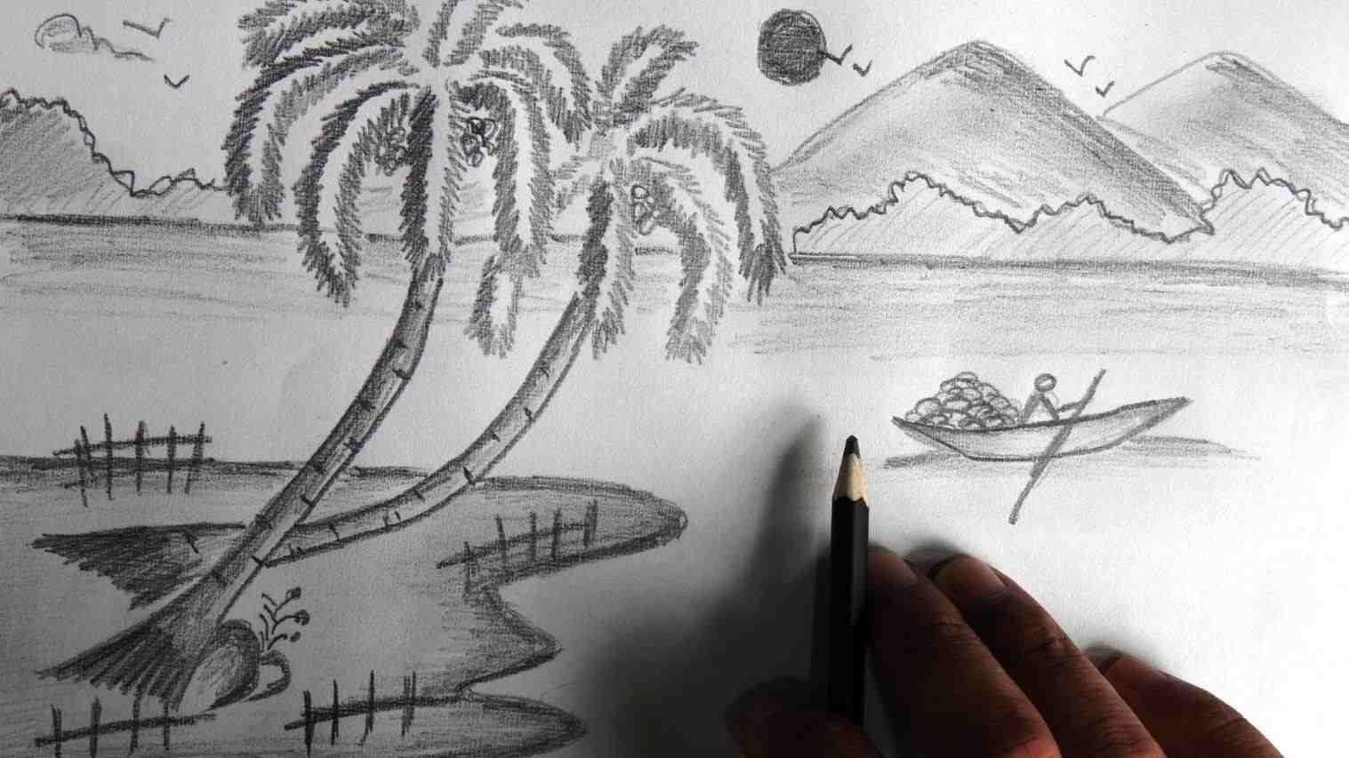 Sketch painting wallpapers nature pictures for drawing hd wallpapers and arabian brown horse sketch painting art hd wallpapers and images sketch