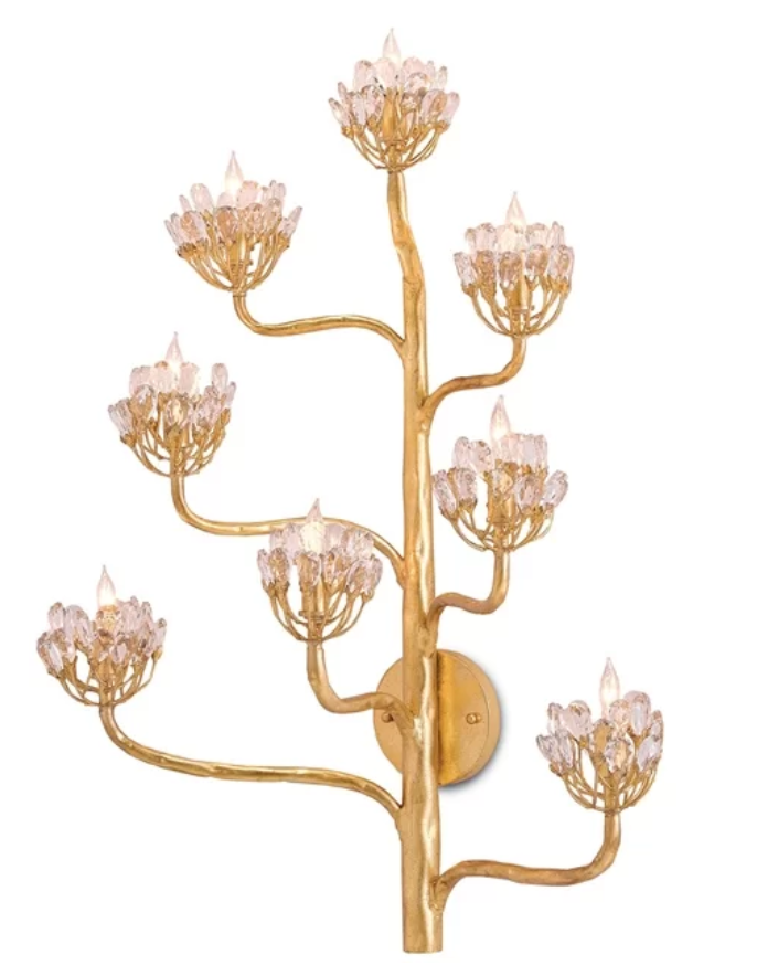 Modern Wall Sconces Candle Sconce Lighting Low Stock Flower
