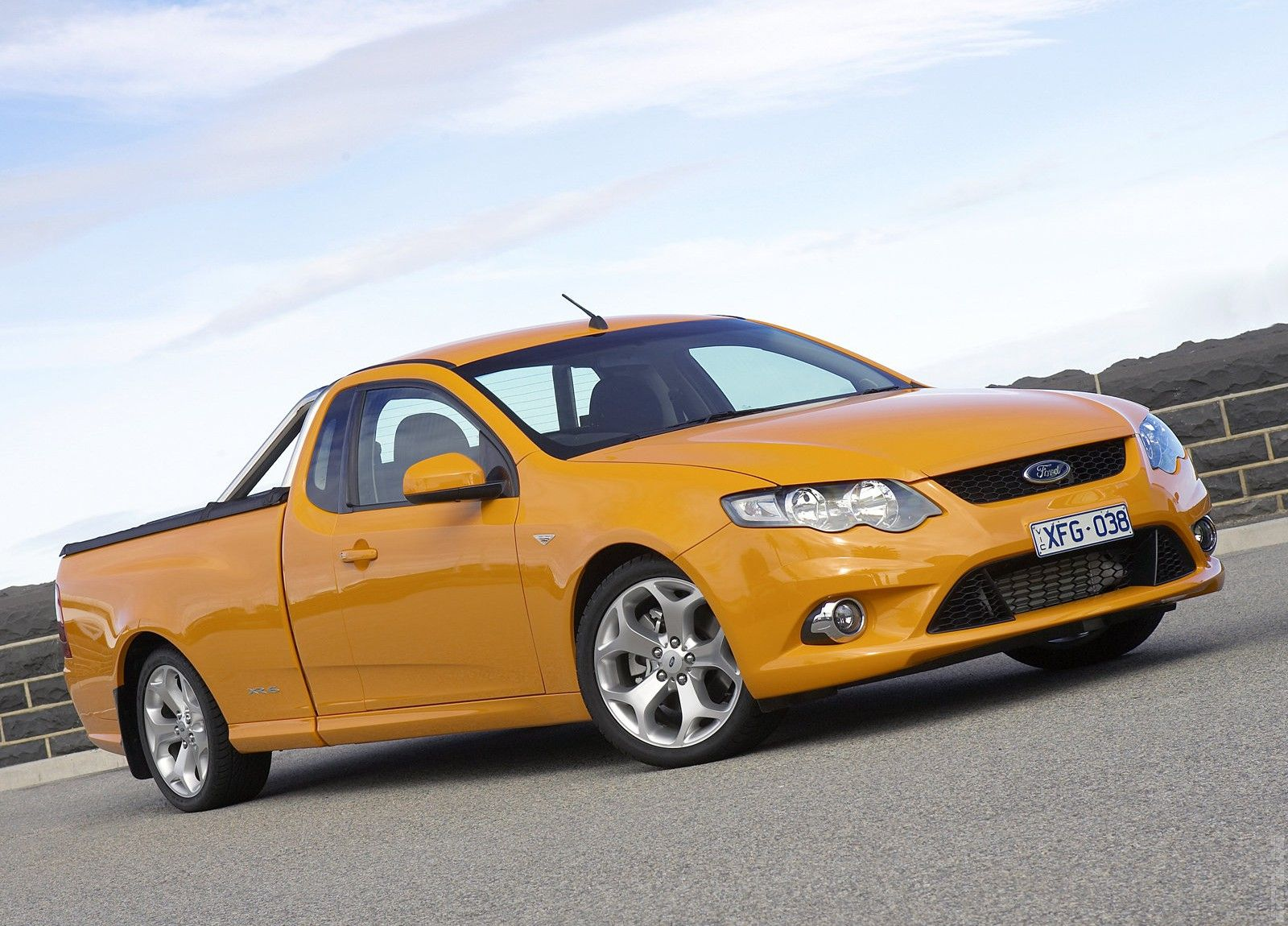 2008 Ford FG Falcon Ute XR6 Turbo