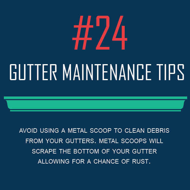 Gutter Maintenance Tip #24- Gutter Scoop Tool - Gutters & Guards, Inc.